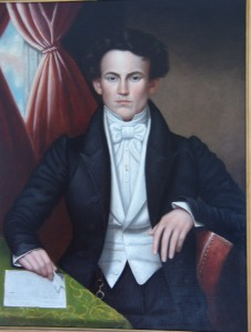 Portrait of Lloyd Granville Sampson by Cephas Thompson, 1832.