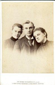 Delano Triplets, c. 1888 Photographer: Notman, Boston, MA