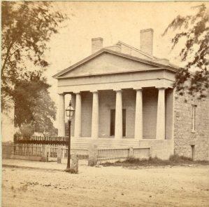 Pilgrim Hall, c. 1870