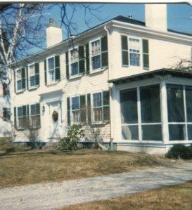 Rebecca Frazar, Jr. House (1829). 56 St. George Street, Duxbury