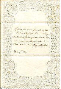 Emma Drew Valentine, 1850