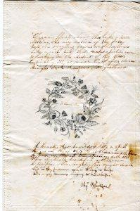 Emma Drew Valentine, c. 1850-1852